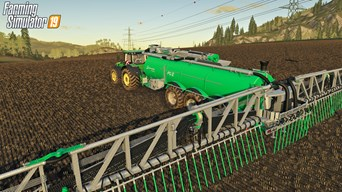 SAMSON machines included in Farming Simulator 2019